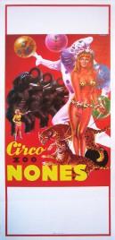Circo Nones Circus poster - Italy, 1975