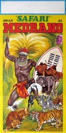 Circo Medrano Circus poster - Italy, 1972