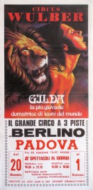 Circo Wulber di Berlino Circus poster - Italy, 1989