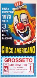 Circo Americano Circus poster - Italy, 1973