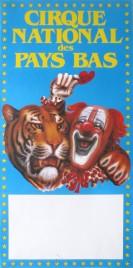 Cirque National des Pays Bas Circus poster - Netherlands, 1985