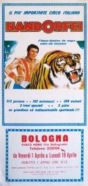 Circo Nando Orfei Circus poster - Italy, 1983