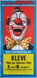 Circus Heros Circus poster - Italy, 1969