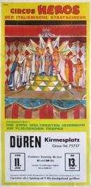 Circus Heros Circus poster - Italy, 1966