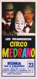 Circo Medrano Circus poster - Italy, 1977