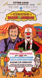 Circus Bassie & Adriaan Circus poster - Netherlands, 1980