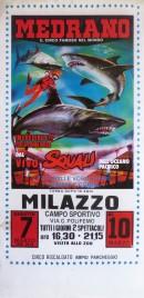 Circo Medrano Circus poster - Italy, 1988