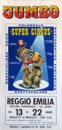 Jumbo - Super Circus Circus poster - Italy, 1977
