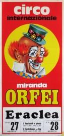 Circo Miranda Orfei Circus poster - Italy, 1981