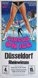 Circus On Ice Circus poster - Italy, 1973
