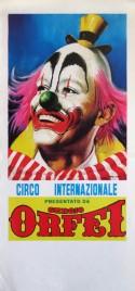 Circo Sergio Orfei Circus poster - Italy, 0