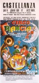 Circo di Francia Circus poster - Italy, 1979