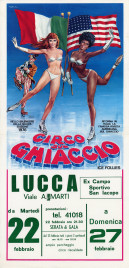 Circo sul Ghiaccio Circus poster - Italy, 1977
