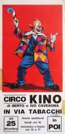 Circo Kino Circus poster - Italy, 1983
