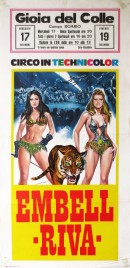Circo Embell Riva Circus poster - Italy, 1975