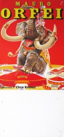 Circo Mauro Orfei Circus poster - Italy, 2001
