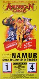 American Circus Circus poster - Italy, 1994