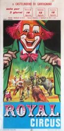 Royal Circus Circus poster - Italy, 1964