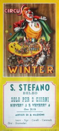 Circus Winter Circus poster - Italy, 1964