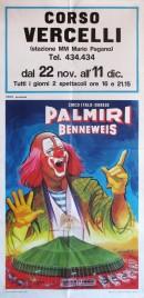 Circo Palmiri Benneweis Circus poster - Italy, 1966