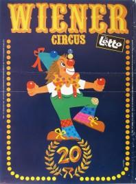 Wiener Circus Circus poster - Belgium, 1985