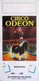 Circo Odeon Circus poster - Italy, 1992