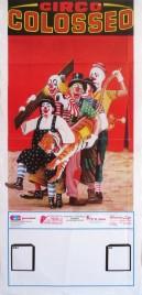 Circo Colosseo Circus poster - Italy, 1988