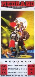Circo Medrano Circus poster - Italy, 1984