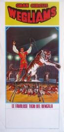 Gran Circus Wegliams Circus poster - Italy, 0