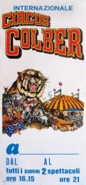 Circus Colber Circus poster - Italy, 1988