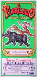 Il Florilegio di Darix Togni Circus poster - Italy, 2009