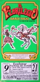 Il Florilegio di Darix Togni Circus poster - Italy, 2003