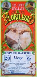 Il Florilegio di Darix Togni Circus poster - Italy, 2001