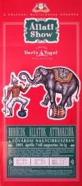 Cirkusz Darix Togni Circus poster - Italy, 2001