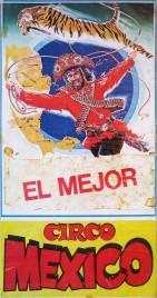 Circo Mexico Circus poster - Italy, 1986
