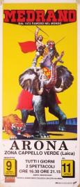 Circo Medrano Circus poster - Italy, 1989