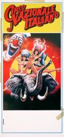 Circo Nazionale Italiano Circus poster - Italy, 1988