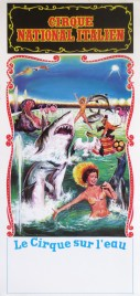 Cirque National Italien Circus poster - Italy, 1988