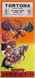 Circo Medrano Circus poster - Italy, 1982