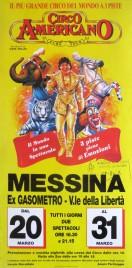 Circo Americano Circus poster - Italy, 1996