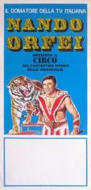 Circo Nando Orfei Circus poster - Italy, 1980