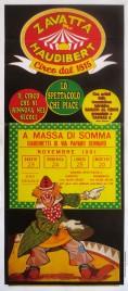 Circo Zavatta Haudibert Circus poster - Italy, 1991