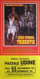 Circo Storico Tribertis Circus poster - Italy, 1994