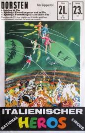 Circus Heros Circus poster - Italy, 1963