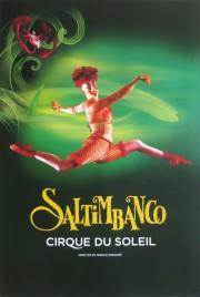 Cirque Du Soleil - Saltimbanco Circus poster - Canada, 1992