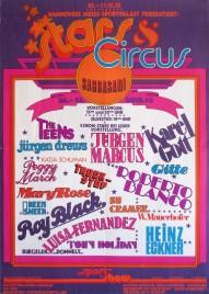 Stars & Circus (Sarrasani) Circus poster - Germany, 1978