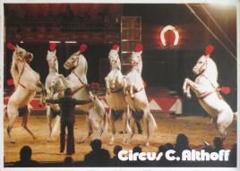 Circus Carl Althoff Circus poster - Germany, 1974