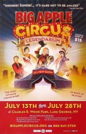 Big Apple Circus - Legendarium Circus poster - USA, 2013