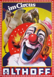 Circus Carl Althoff Circus poster - Germany, 1975