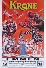 Circus Krone Circus poster - Germany, 1995